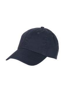 Organic Cotton Baseball Cap w/ Velcro Closure