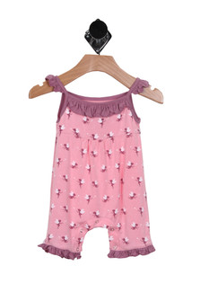 Baby Fairies Sleeveless Ruffle Romper (Infant Girl)
