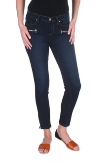 Jane Zip Cropped Skinny Jean