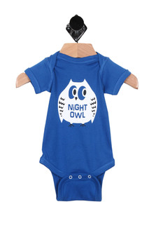 Night Owl S/S Onesie (Infant Boy)