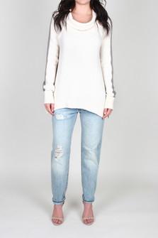 Yo Yo Color-Blocked L/S Sleeve Pullover Sweater