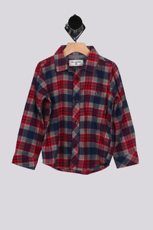 Jackson Plaid Flannel Shirt w/ Pocket (Big Boy)
