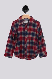 Jackson Plaid Flannel Shirt w/ Pocket (Little Boy)