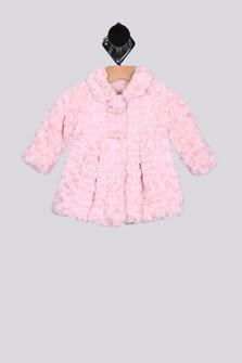 Rosestones Faux Fur Coat (Infant)