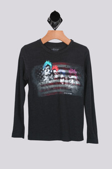 Punk Rock Mount Rushmore L/S Tee (Toddler/Little/Big)