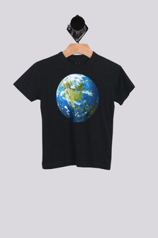 Save The Planet S/S Crew Neck Tee (Little-Big Boy)