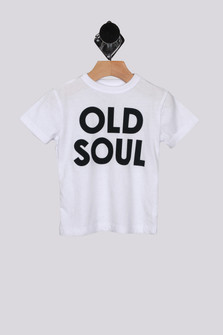 Old Soul S/S Crew Neck Tee (Toddler-Little Boy)