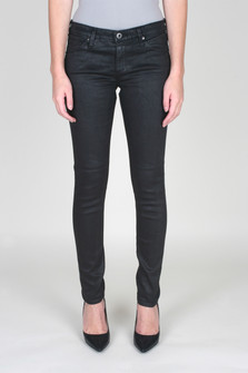 Leatherette Legging Ankle Jean