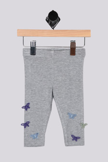 Butterfly Trim Legging (Infant)