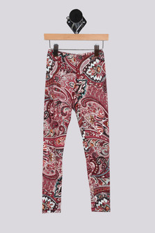 Printed Stretch Legging in
