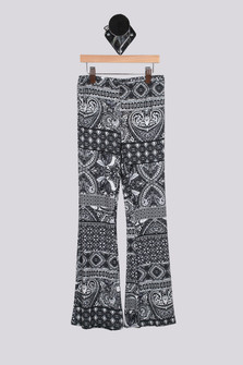 Printed Flare Pant (Big Kid)