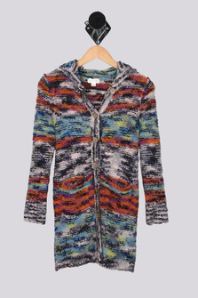 Rocky Mountain Cuddly Hooded Cardigan (Big Kid)