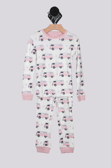 L/S Bus Thermal PJ Set (Big Kid)
