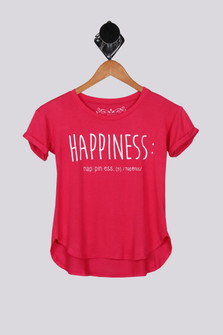 Happiness S/S Lounge Tunic (Big Kid)