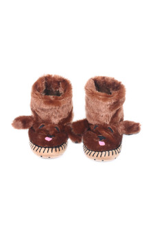 Chocolate Lab Slippers (Toddler/Little/Big Kid)