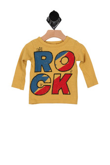 L/S Rock Graphic Tee (Infant/Toddler)