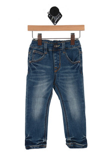 Wrinkle & Faded Denim Pants (Infant/Toddler)