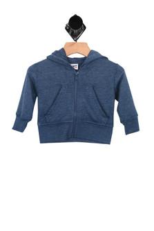 Distressed Zip-Up Hoodie (Infant/Toddler)