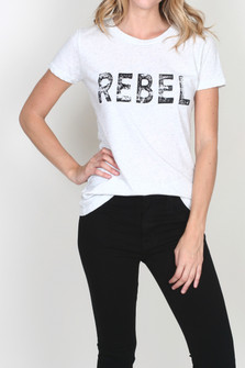 Rebel Crew Neck Tee