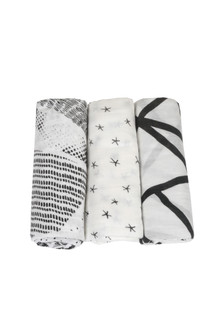 Midnight Silky Soft Swaddle Pack