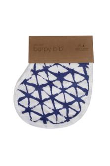 Indigo Silky Soft Burpy Bib