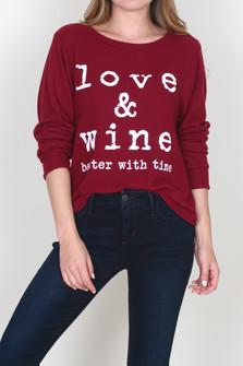 Love & Wine Sweater