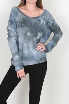 Taffy Printed L/S Raglan Sweatshirt