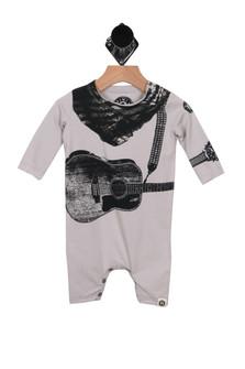 L/S Onesie w/ Guitar Detailing (Infant)