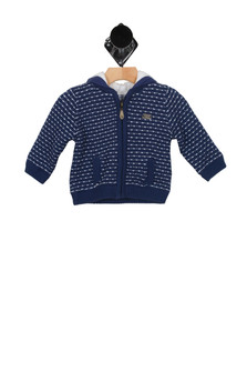 Knit Zip-Up Hoody (Infant)