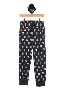 Skull Print Pajama Pant (Little Kid)