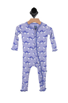 Printed Classic Layette Ruffle Coverall (Infant)