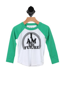 I Am The Future Baseball Tee (Toddler/Little/Big Kid)