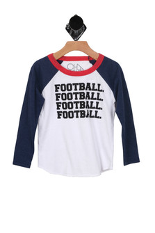 Football Graphic T-Shirt (Little/Big Kid)