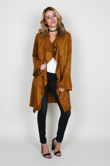 Faux Suede Meadow Jacket