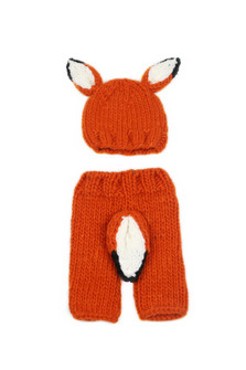 Fox Beanie w/ Matching Pant (Infant)