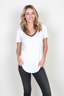 The Ringer V-Neck Tee