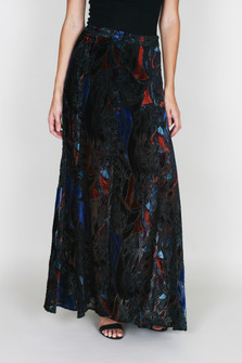 Love Me So Right Velvet Maxi Skirt
