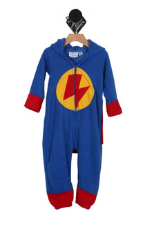 Superhero Hooded Onesie w/ Cape (Toddler/Little/Big Kid)