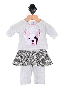 Bulldog Princes Two-Piece Set (Infant)