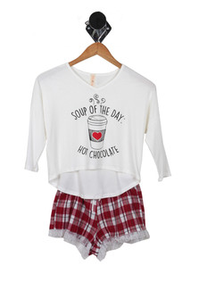 Hot Chocolate PJ Set (Big Kid)
