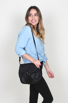 Saddle Bag w/ Suede Tassle