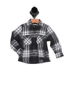 Game Play L/S Flannel Jacket (Toddler/Little Kid)