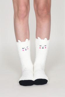Sherpa Lamb Face Socks