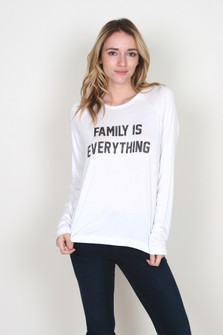 Family Is Everything L/S Top