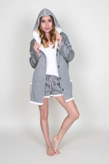 Sherpa Jersey Robe
