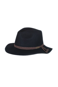 Boho Panama Hat w/ Braided Detail
