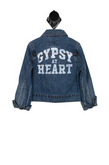 Gypsy At Heart Denim Jacket (Big Kid)