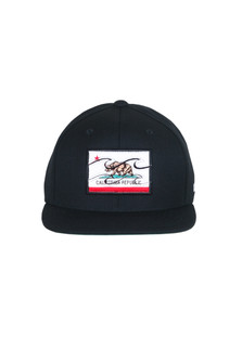 California Republic Flat Bill Hat (Big Kid)