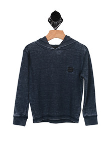 L/S Waffle Pullover Hoody (Toddler/Little Kid)