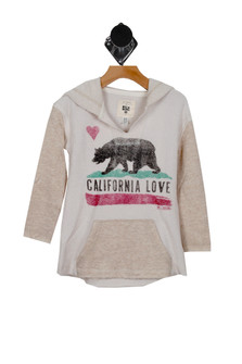 California Love Pullover Terry Hoody (Little/Big Kid)